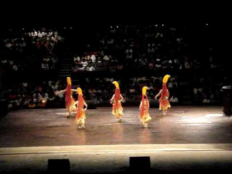 Tianjin Song+Dance Troupe  - ' F i r e ' performance