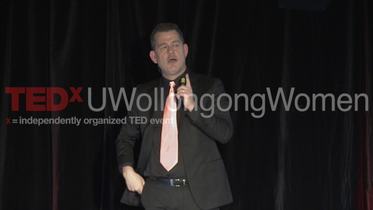 Equal work, equal pay: In the office … and at home | Charles Areni | TEDxUWollongongWomen