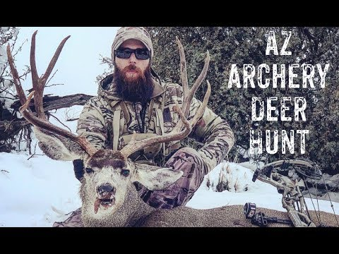 Arizona Archery Mule Deer Hunt: Jan 2019