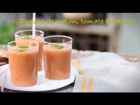 recette-de-gaspacho-de-melon,-tomates-et-basilic