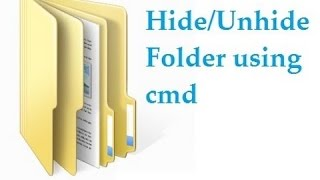 "How To Hide & Unhide A Folder Using ""CMD"" (Command Prompt)"