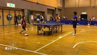 【卓球】VS平塚義章選手(飯能信用金庫)【ボコられ動画】