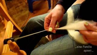 Spinngrundlagen #1 - Spinnen lernen am Spinnrad (HD)