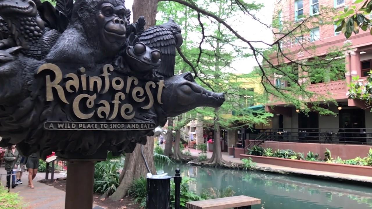 Planetxploration World Detour Rainforest Cafe San