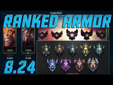 RANKED ARMOR LEAGUE OF LEGENDS SEASON 9 RANKED CHANGES! League of Legends  Patch 8 24 LP Glitch?