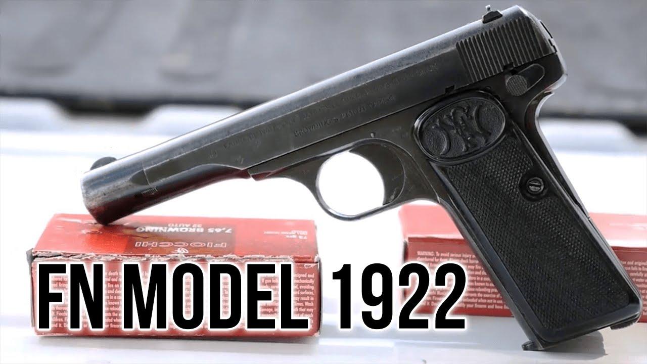 Fn Model 1922 Pistol Stamps