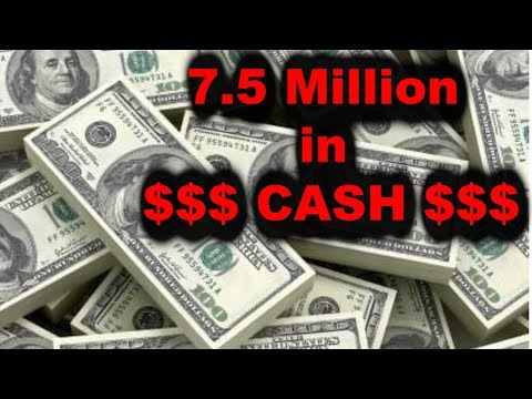 7.5 Million DOLLARS CASH found in California Storage Unit Wars Auction