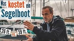 Was kostet ein Segelboot? 26 ft. vs. 39 ft. Vergleich der jährlichen Kosten | BootsProfis (Segeln)