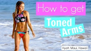 How to get Toned Arms | Rebecca Louise