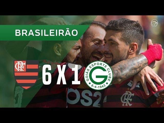 FLAMENGO 6 X 1 GOIÁS - GOLS - 14/07 - CAMPEONATO BRASILEIRO 2019