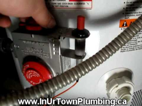 how to clean out debris in igniter and thermocouple