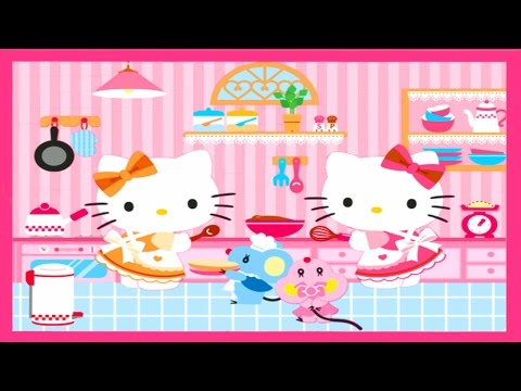 Hello Kitty Kids Videos - Play & Learn Hello Kitty All Games for Girls - Children Fun Learning Games