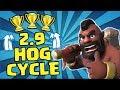 GOOD OL' FASHION HOG CYCLE PUSHIN'!   Let's Push For 5000 Trophies!   Clash Royale