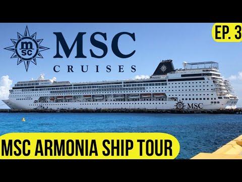 MSC ARMONIA Cruise Ship Tour 2019 L Top Decks L Post Dry Dock L Cruise Vlog L Ep. 3
