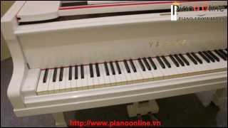 Đàn Piano Yamaha Grand G3E White ( Màu Trắng ) Nhật Bản