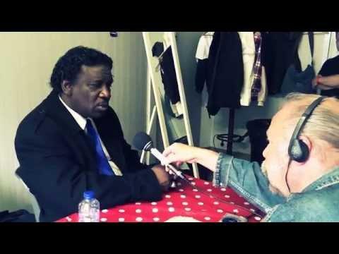 Mud Morganfield -'Crossroad Blues' Radio Hoogeveen -LIVE interview at Ribs en Blues 2015 Raalte NL