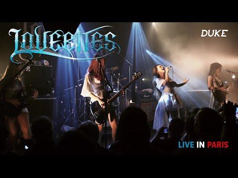 Lovebites - Live, Paris 2018 (Rising, The Hammer of Wrath) - Duke TV