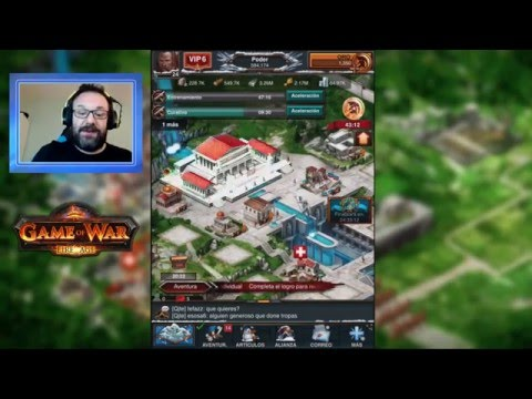 EL MEGA-IMPERIO DE PELUCHE - Game of War en español -
