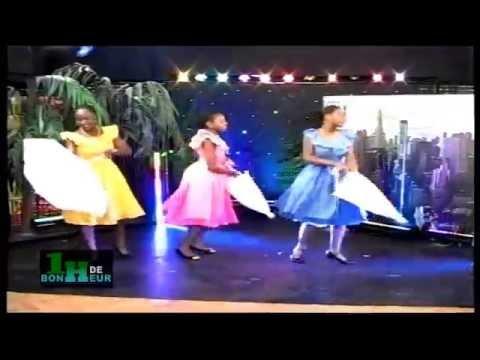Le Ballet RACINE CREOLE dans l'émission TV et Radio 1H DE BONHEUR présentée par Gissé Travys