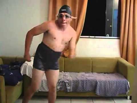 Brazilian Guy In Swim Cap Dancing Panamericano Youtube