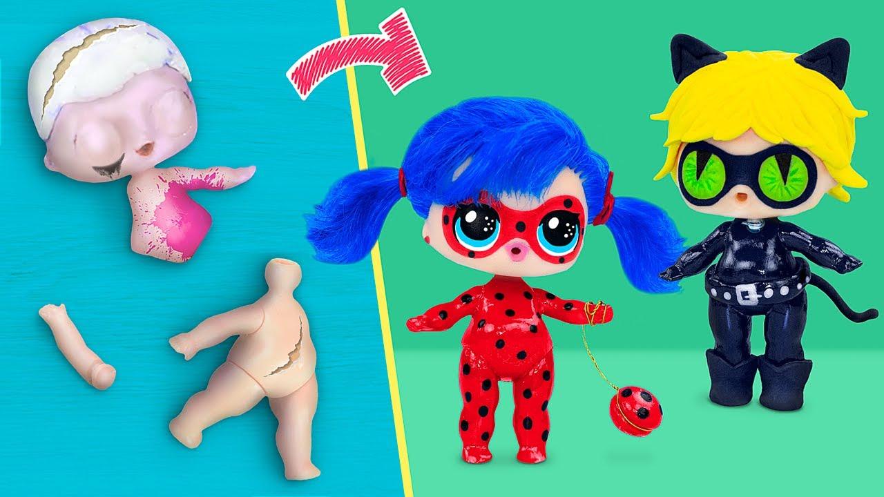 ไม่มีใครแก่เกินไปที่จะเล่นตุ๊กตาหรอกนะ! ตุ๊กตา LOL Surprise แปลงโฉมเป็นสาวเลดี้บั๊ก