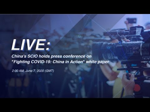 """LIVE: China's SCIO holds press conference on """"Fighting COVID-19: China in Action"""" white paper"""