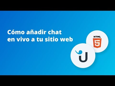 Cómo Añadir Chat En Vivo A Tu Sitio Web: HTML