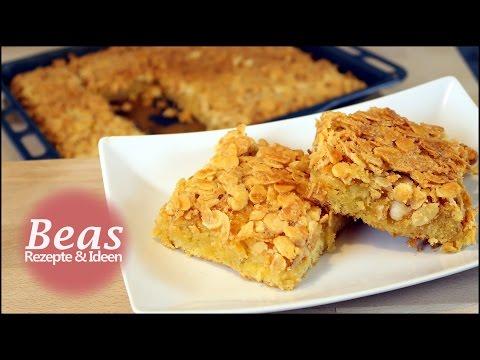 Mandel Blechkuchen Rezept | Schnell leckeren Mandelkuchen backen