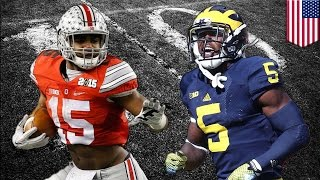 Michigan vs Ohio State: Wolverines Jabrill Peppers ready for Buckeyes Zeke Elliott