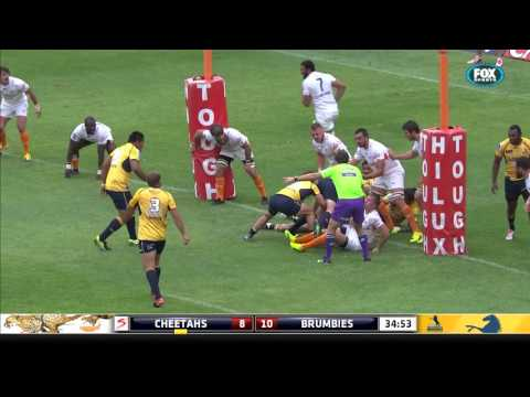 Super Rugby: Cheetahs V Brumbies (Round 5)