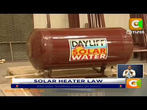 ERC puts  building owners on notice over water solar heaters