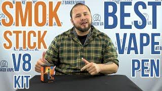 SMOK Stick V8! Best Vape Pen   Product Spotlight [UNBOXING and SET UP]