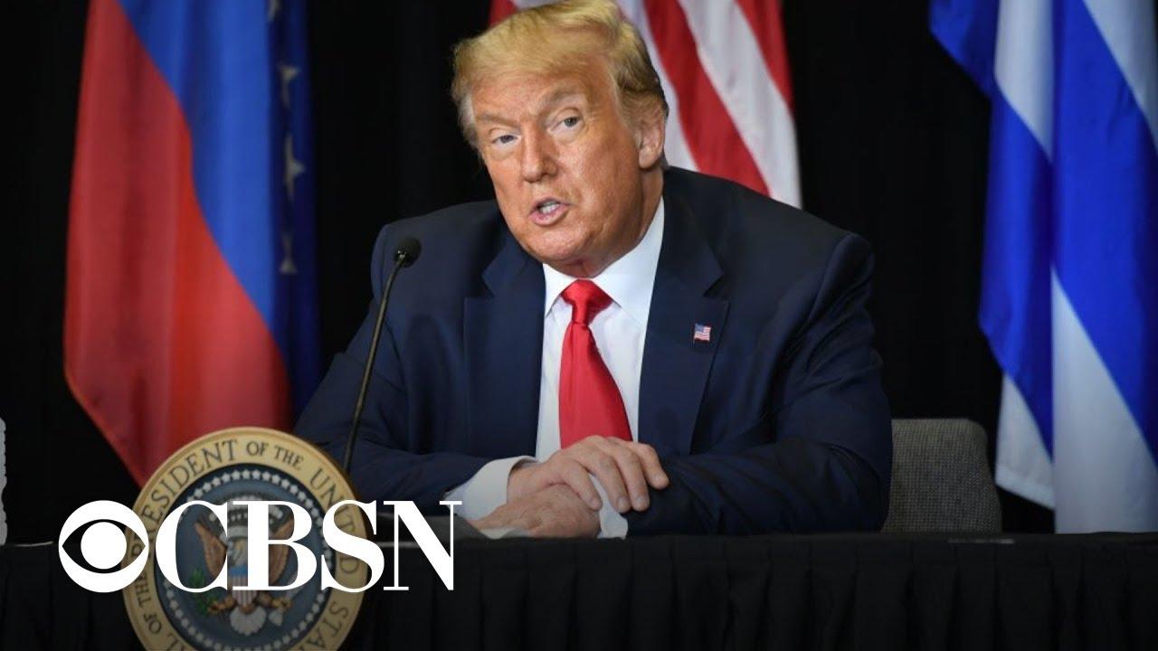 Trump visits Florida as state's coronavirus cases climb