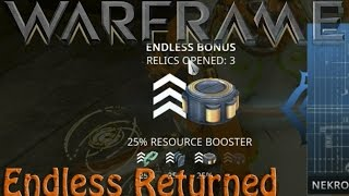 Warframe - Endless Prime Hunting Returns