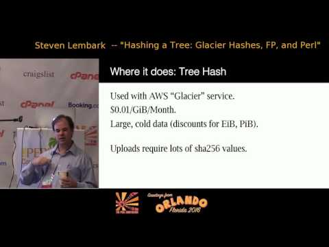 Hashing a Tree: Glacier hashes, FP, and Perl