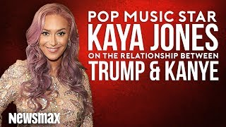 Pop Star Kaya Jones Discusses Trump's Relationship with Kanye
