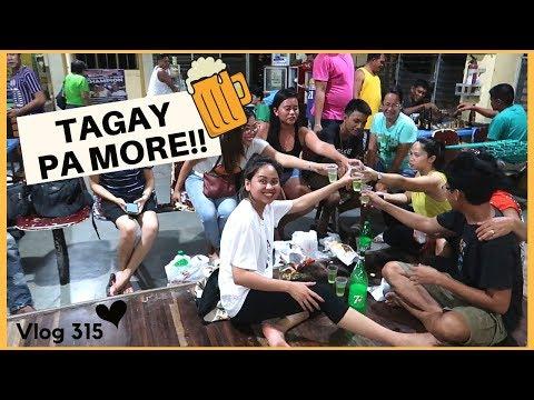 DRINKING IN THE PHILIPPINES!! NA LASHING KASAMA MGA PAMILYA