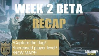 Call Of Duty WWII BETA - WEEK 2 CHANGES