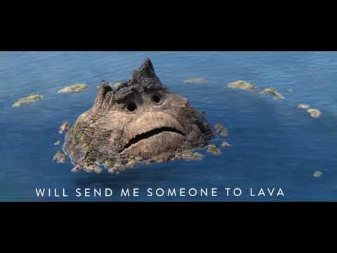Мультфильм лава и вулкан