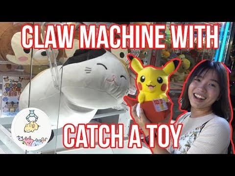 CLAW MACHINE With CATCH A TOY! - Arcade Ninja