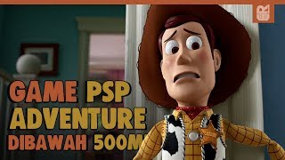 5 Game PSP Adventure Terbaik Dibawah 500MB | PPSSPP Emulator