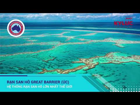KylucRadio.vn| Rạn san hô Greart Barrier Úc - Hệ thống rạn san hô lớn nhất thế giới