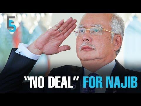 "EVENING 5: Tun M: ""No deal"" for Najib"