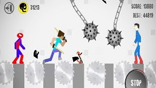 Stickman Destruction Level Editor Annihilation All Characters Unlocked - Android GamePlay#3 HD