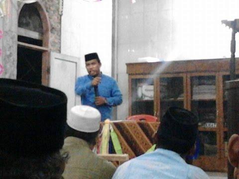 Ceramah Gayo Tgk. Husaini Sasa S.Sy Peringatan Maulid Nabi Muhammad SAW Desa Kuning
