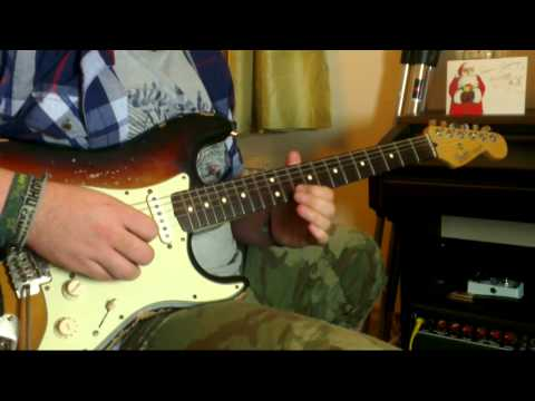 Fender Stratocaster - Bare Knuckle Irish Tours - Ditto Looper - Fender Champ 12 - Jazzy!
