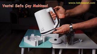 Vestel Sefa Cam Beyaz Çay Makinesi İle Çay Yapmak Kolay