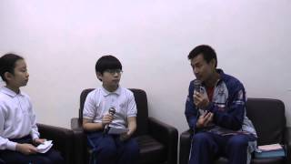2011年度資優組外出訪問洪松蔭先生
