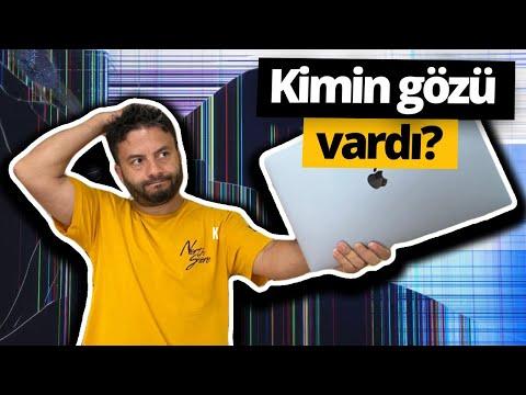 SDN ofisinde talihsizlik! 16 inçlik MacBook Pro'ya nazar değdi 😢