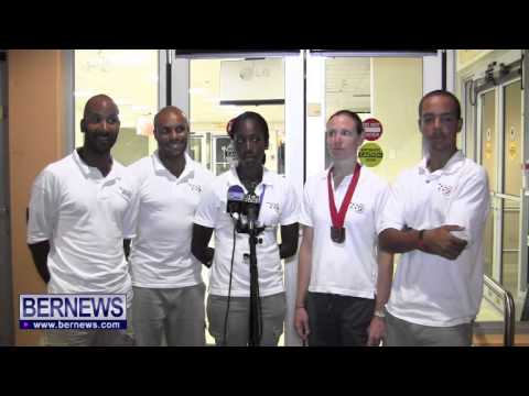 Bermuda Cyclists Return From Curacao, Oct 21 2013